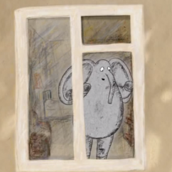 «En attendant», un film d'animation de Vera Miakicheva. Мультфильм «Ожидая».
