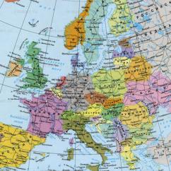 Les pays d'Europe en russe. Европа
