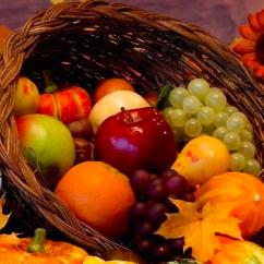fruits automne carré e1419365165732 - Alice revient du marché avec quelques provisions... Продукты