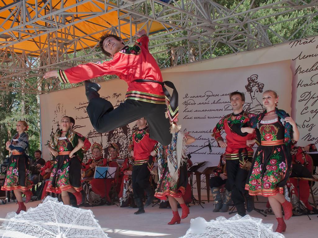 saut danse russe