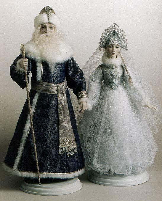 Snegourotchka et Ded Moroz