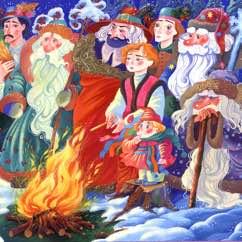 Les mois de l'année en russe. 12 месяцев