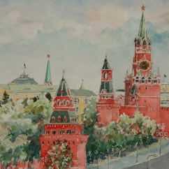 Un matin au Kremlin… Утро в Московском кремле