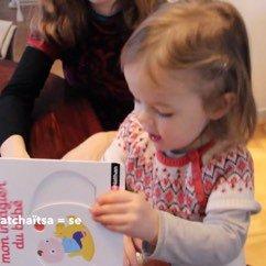 Alice et le livre de bébé. Малыш