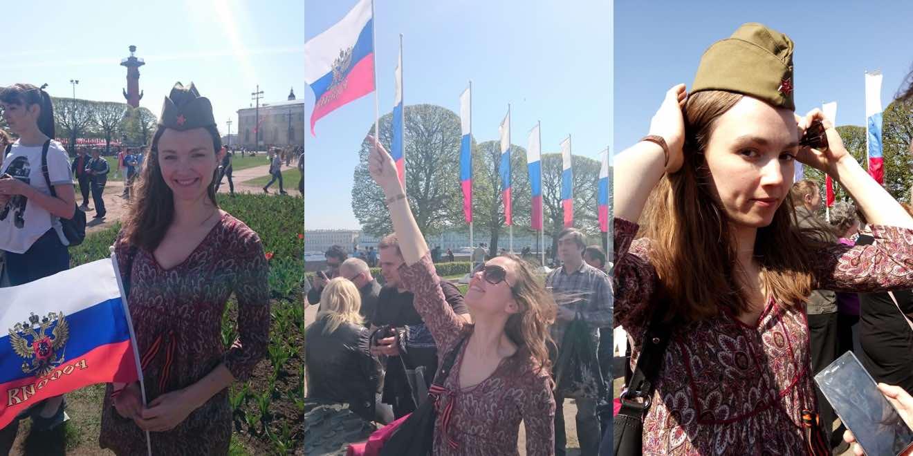 Le Jour de la Victoire. День Победы