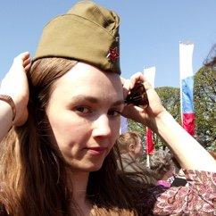 Katioucha, le 9 mai à Saint-Pétersbourg. Катюша
