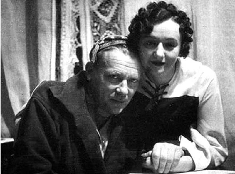 Mikhaïl Bulgakov et Elena ChilovskaïaЕлена. Сергеевна и Михаил Афанасьевич Булгаковы