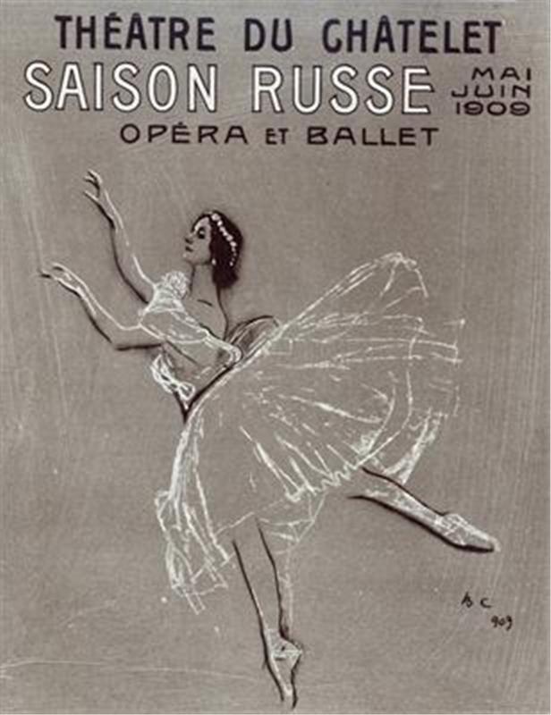 Pусские сезоны – Saisons russes de Serge Diaghilev