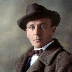 L'écrivain russe Mikhaïl Boulgakov. Михаил Афанасьевич Булгаков