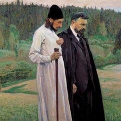 le théologien et néo-martyr Florenski et Bulgakov