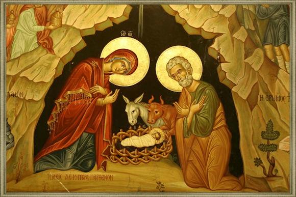 Noel orthodoxe - Naissance de Jésus Christ