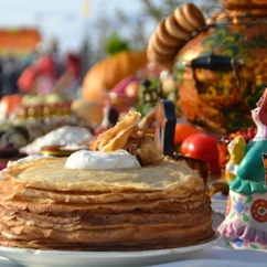 Mardi gras à Moscou. Масленица