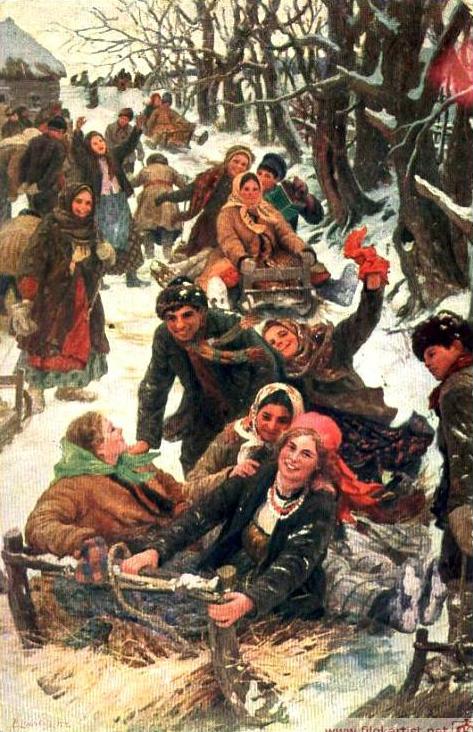 Ф. В. Сычков. Праздничная забава