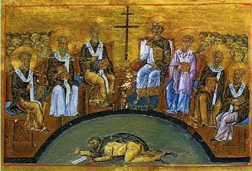 Enluminure du ménologe de Basile II (fin du Xe siècle)