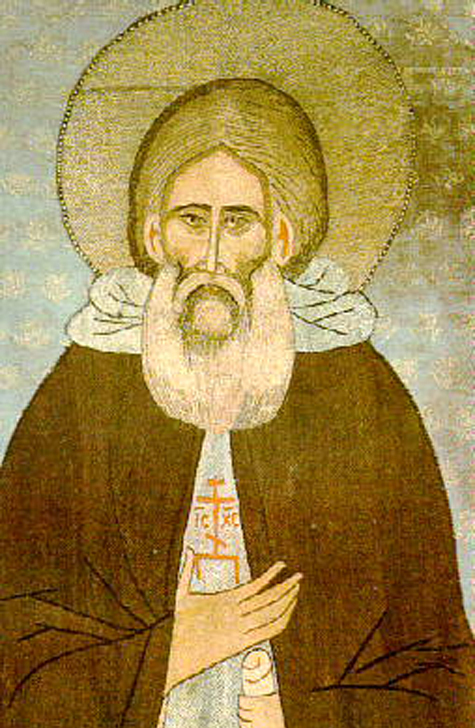 Icone de St Serge- 1313-1392