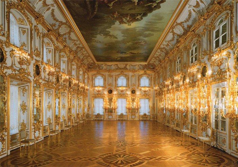 1445765015 verhnie petrovskie palaty takzhe izvestnye kak bolshoy dvorec - Peterhof ou la cour de Pierre. Петергоф