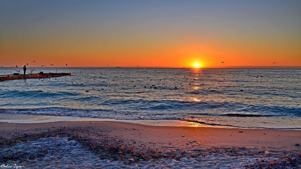Пляж ''Ланжерон.