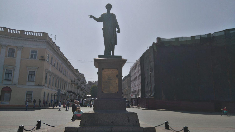 Statue du Duc de Richelieu, 1er gouverneur français d'Odessa