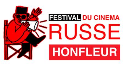 Le logo du festival de cinéma russe de la Ville de honfleur