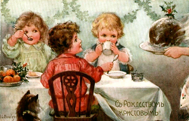 4 - Dire Joyeux Noël en russe : C Рождеством!
