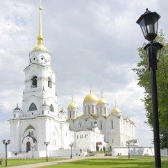Dans la ville de Vladimir. Во Владимире