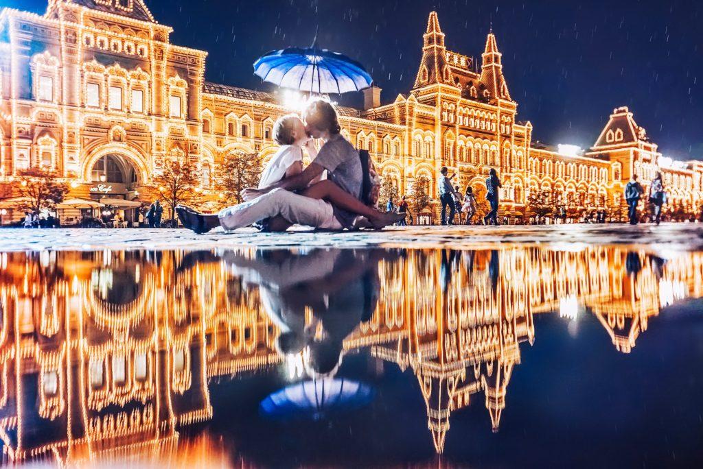 moscou amoureux 1 1024x684 - Des mots d'amour, en russe. Слова любви