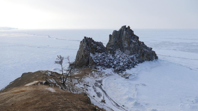 """La neige en Sibérie utilisé dans la page """"La Russie sous la neige, un rêve réalisé"""". Catherine et Roger"""
