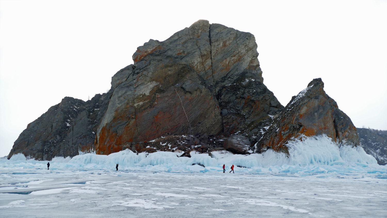 """La glace et la roche utilisé dans la page """"La Russie sous la neige, un rêve réalisé"""". Catherine et Roger"""