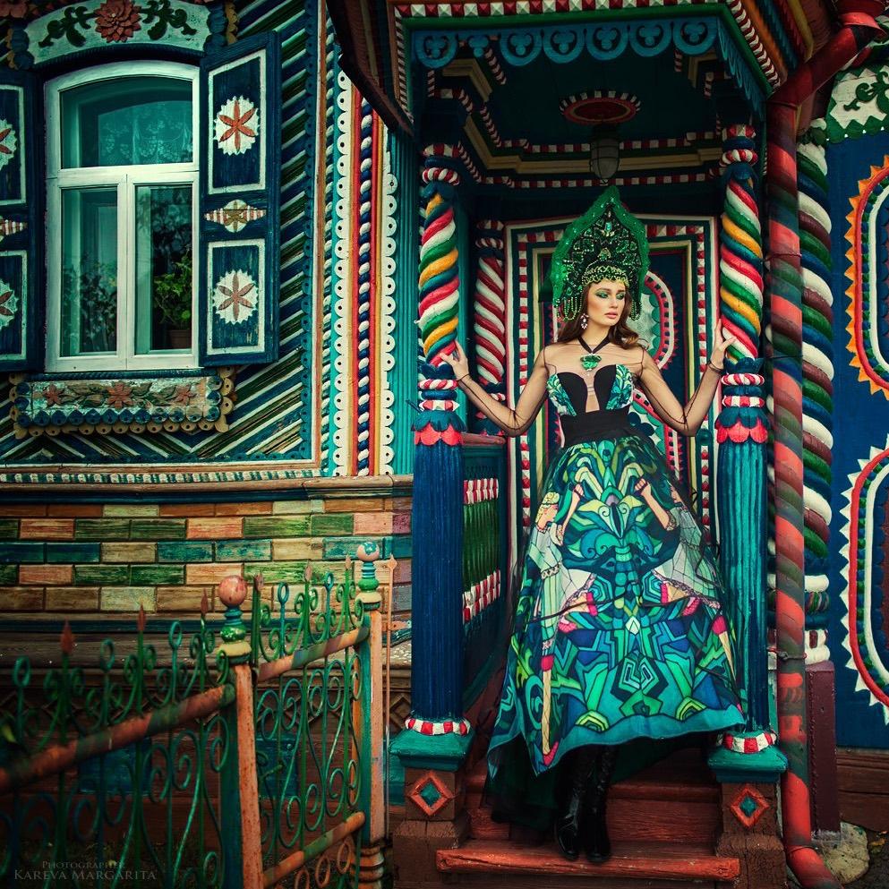 Izba russe habit traditionnel Margarita Kareva Apprendre le russe avec Ania - Rencontre avec la photographe russe Margarita Kareva. Маргарита Карева