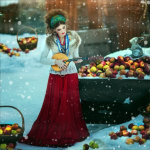 Jeune fille russe habit traditionnel Margarita Kareva Apprendre le russe avec Ania 300x300 - Apprendre le russe