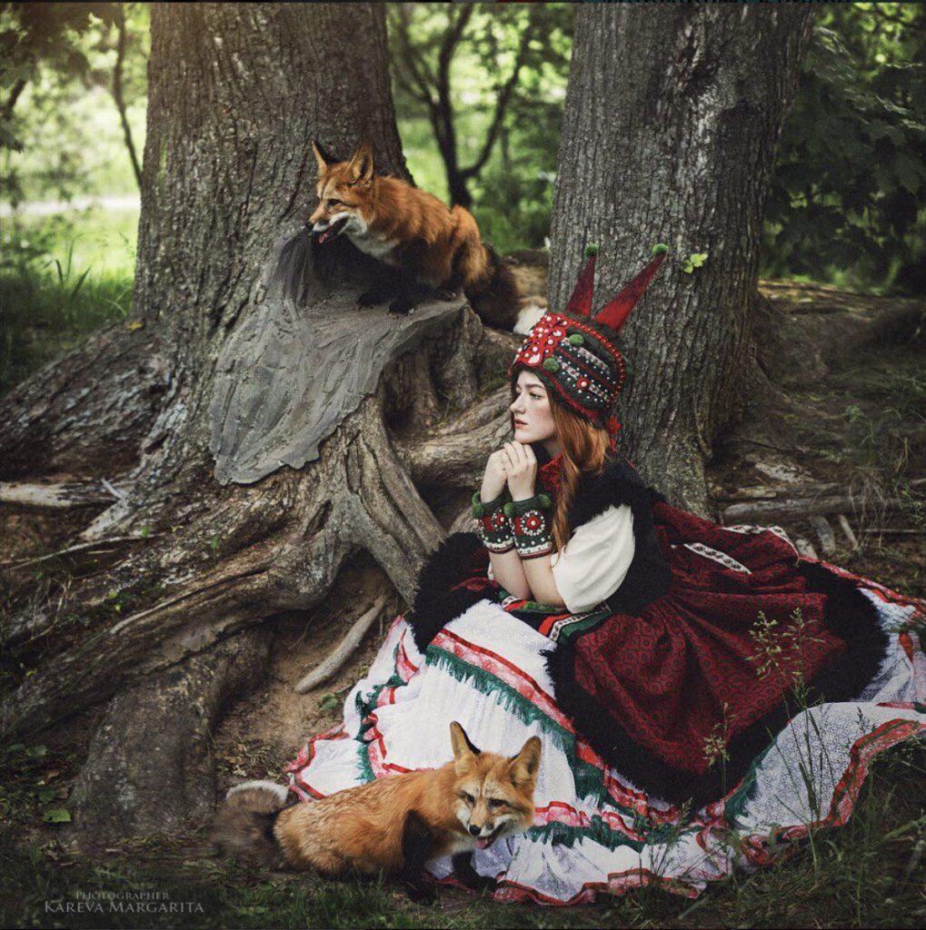 fille russe traditionnelle Maria Kareva 1019x1024 - Rencontre avec la photographe russe Margarita Kareva. Маргарита Карева