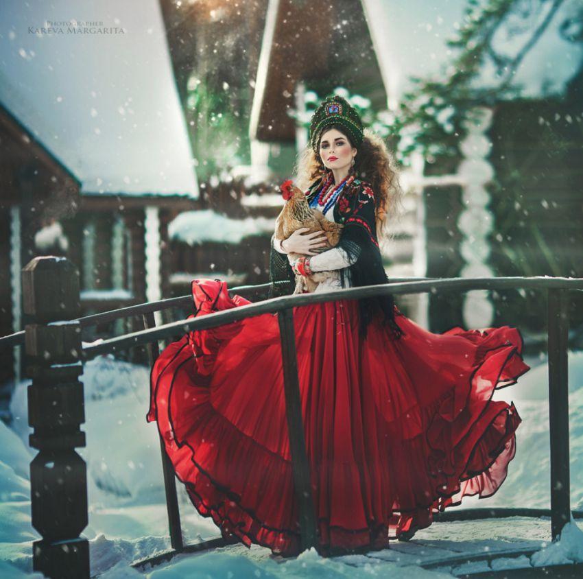 photo femme russe hiver maria kareva - Rencontre avec la photographe russe Margarita Kareva. Маргарита Карева