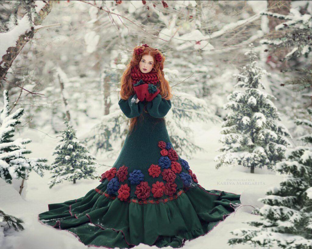 photo fille russe hiver maria kareva 1024x817 - Rencontre avec la photographe russe Margarita Kareva. Маргарита Карева