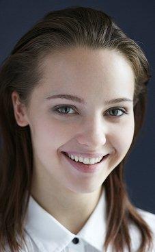 Photo portrait de l'actrice russe YuliyaKhlynina.