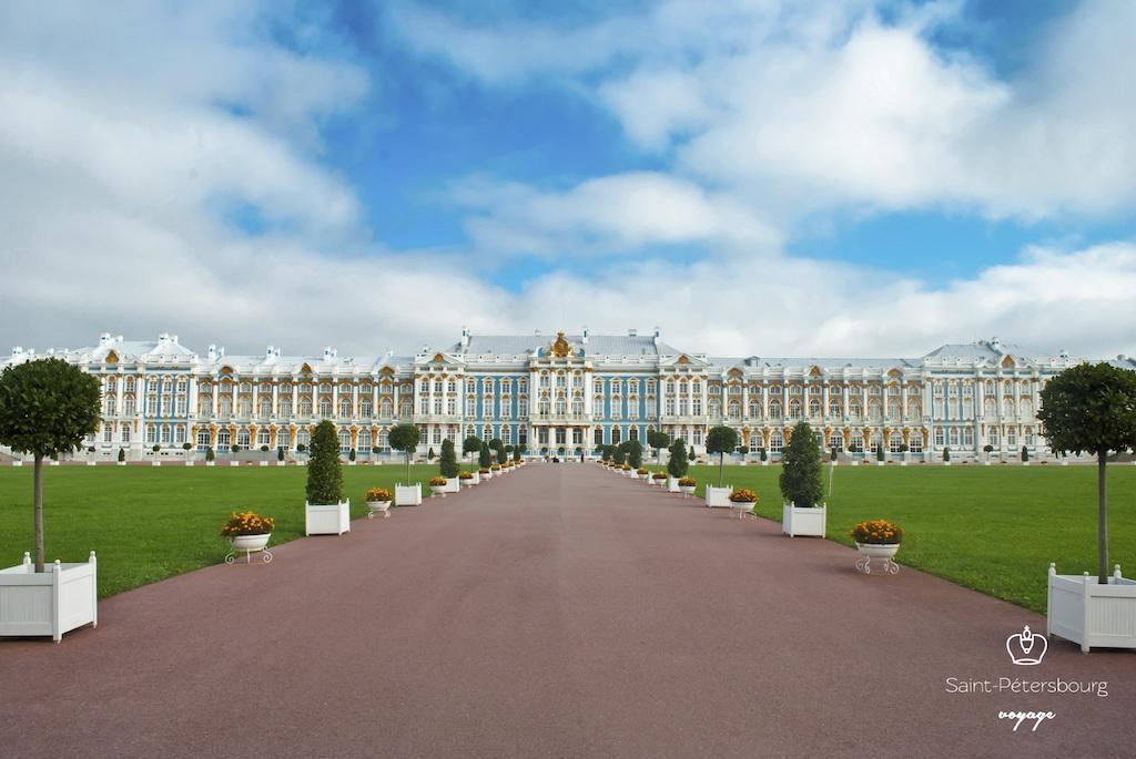 Palais Catherine à Tsarskoïe Selo. Екатерининский дворец