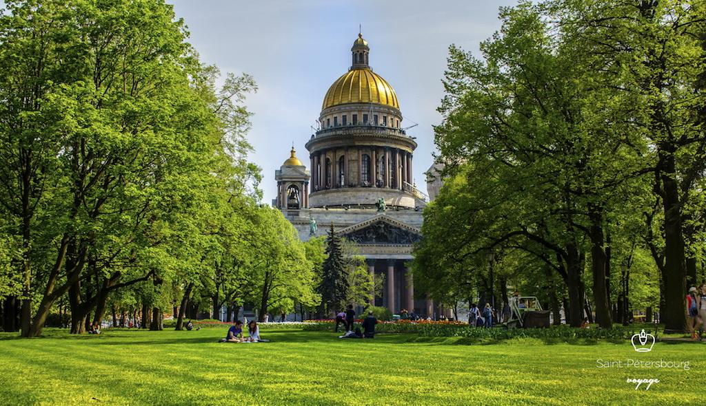 Saint Pétersbourg Cathédrale Saint Isaac Санкт Петербург Исаакиевский собор  - Stage de Russe à Saint-Pétersbourg, Niveau Elémentaire