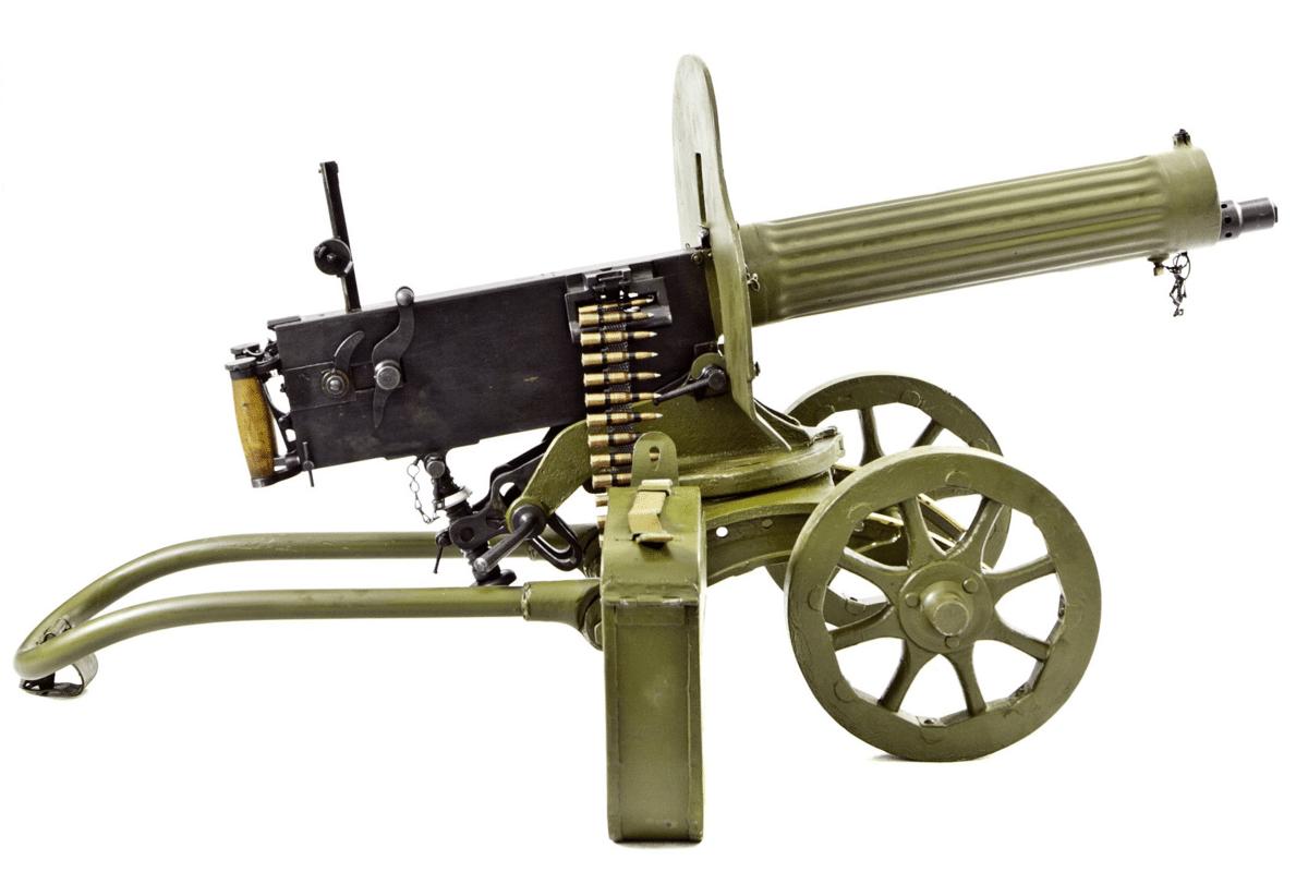 Photo de mitraillette russe utilisé dans la page Apprendre à rouler le R en russe