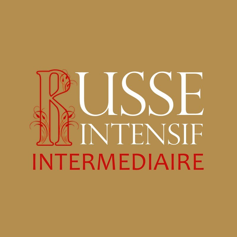 Russe Intensif Intermédiaire - 52 cours en une année utilisé dans la page Russe Intensif Intermédiaire - 52 cours en une année