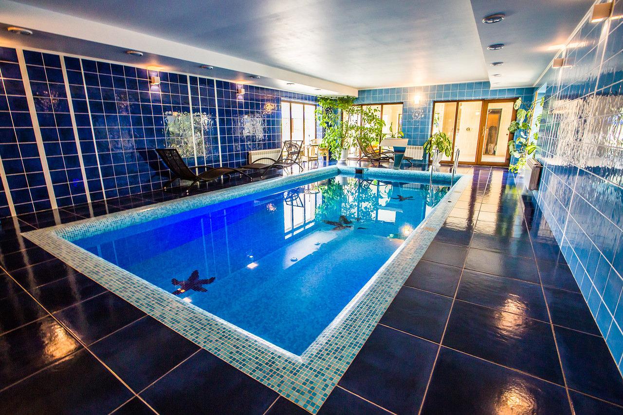 Espace spa piscine Vodar Biélorussie utilisé dans la page Stage de Russe en Biélorussie lors du Carnaval Slave