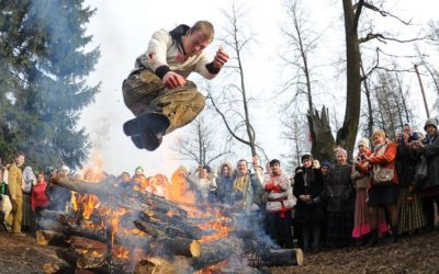Stage de Russe en Biélorussie lors du Carnaval Slave