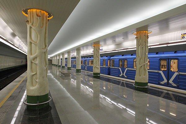 métro biélorusse utilisé dans la page Stage de Russe en Biélorussie lors du Carnaval Slave