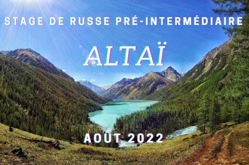 Stage de russe immersif Altai